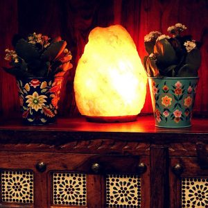 Large Himalayan Salt Lamp - Natural Shape