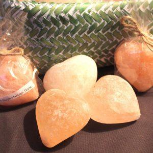 Heart Shape Himalayan Salt Massage Stone