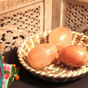 Egg Shaped Himalayan Salt Massage Stone