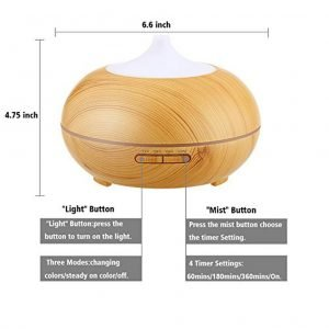 Aromatherapy Electrical Essential Oil Diffuser