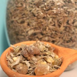 Frankincense Hojari & Local Sage Resin Mix