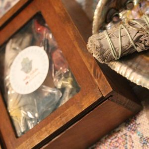 California White Sage Smudge Cleansing Gift Set