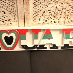 Love UAE Sign Decor with Lights