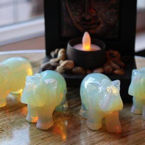 Opalite Elephants