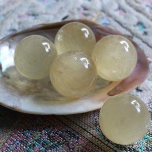 Citrine Crystal Spheres