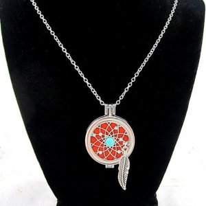 Dreamcatcher Aromatherapy Diffuser Necklace